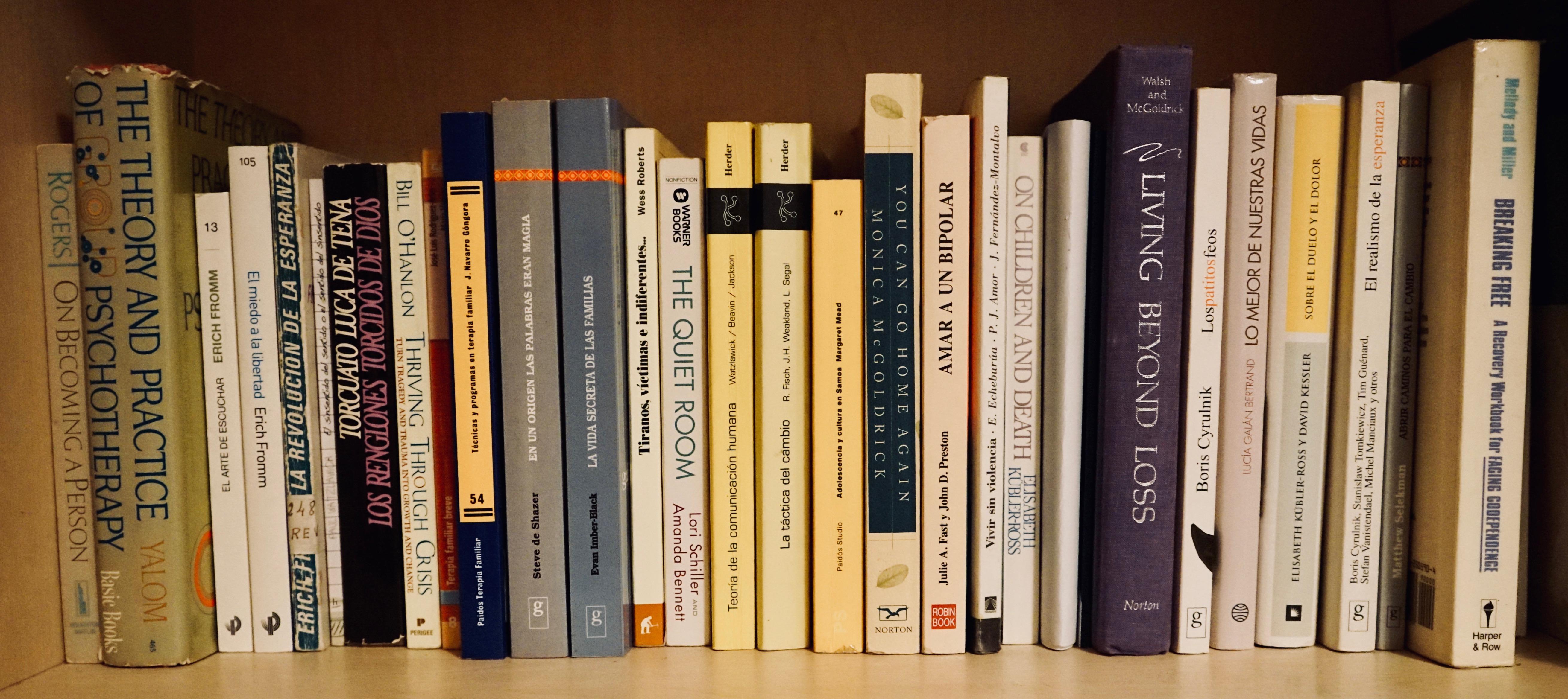 libros de terapia